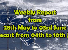 Weekly Weather Report til 03 June