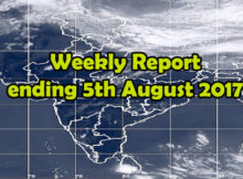 MONSOON UPDATES & WEEKLY REPORT ENDING 29TH JULY 2017