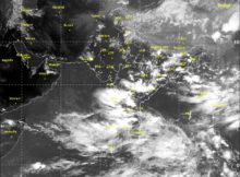 Satellite picture of 7th September 2017 1830 hrs IST